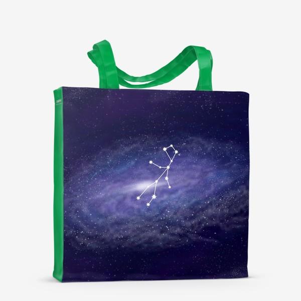Сумка-шоппер «Созвездие Дева. Галактика»
