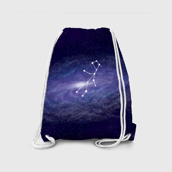 Рюкзак «Созвездие Дева. Галактика»