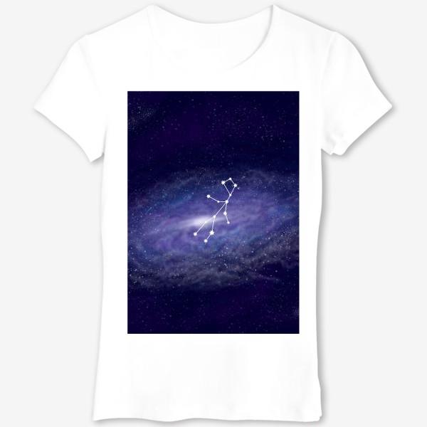 Футболка «Созвездие Дева. Галактика»