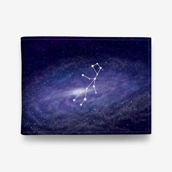 Кошелек «Созвездие Дева. Галактика»