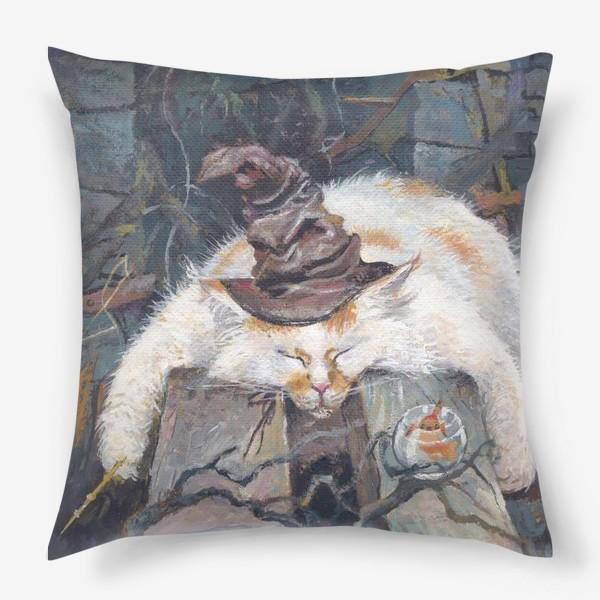 Подушка «Волшебник,кот»