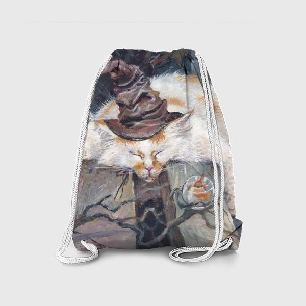 Рюкзак «Волшебник,кот»