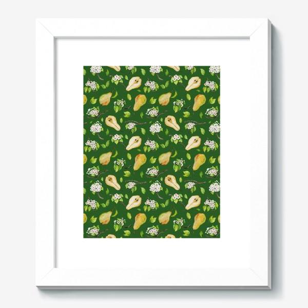 Картина «Грушевый сад. На зеленом. »