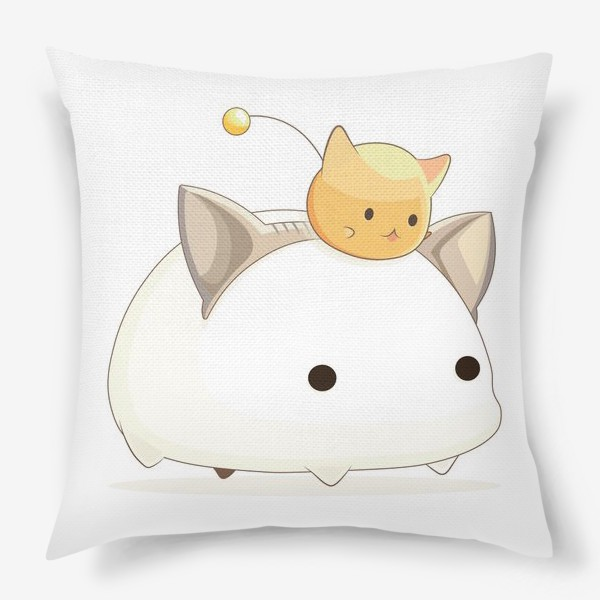 Подушка «Кавайный кот»