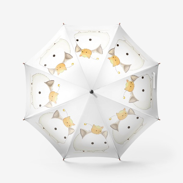 Зонт «Кавайный кот»