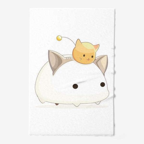 Полотенце «Кавайный кот»