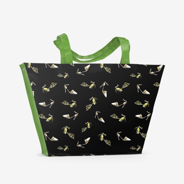 Пляжная сумка «Босоножки-туфельки»