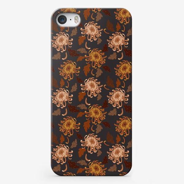 Чехол iPhone «осенние хризантемы»