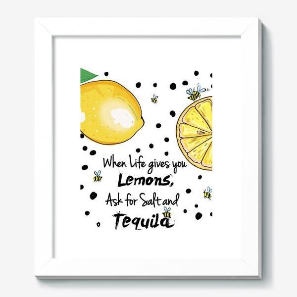 Картина «Лимонный»