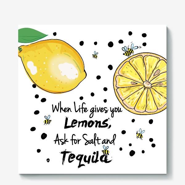 Холст «Лимонный»