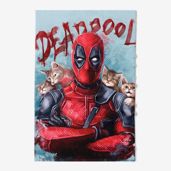 Полотенце «deadpool»