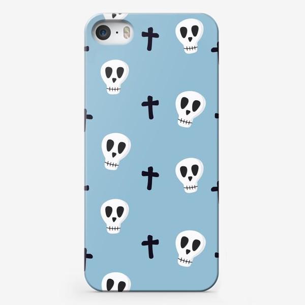 Чехол iPhone «Черепушки»