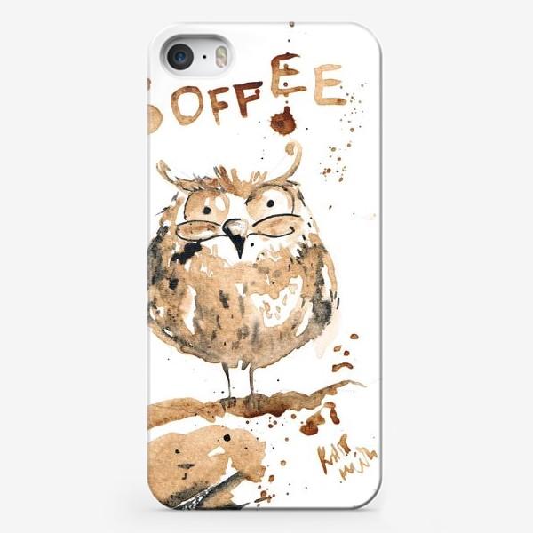 Чехол iPhone «Coffee owl»