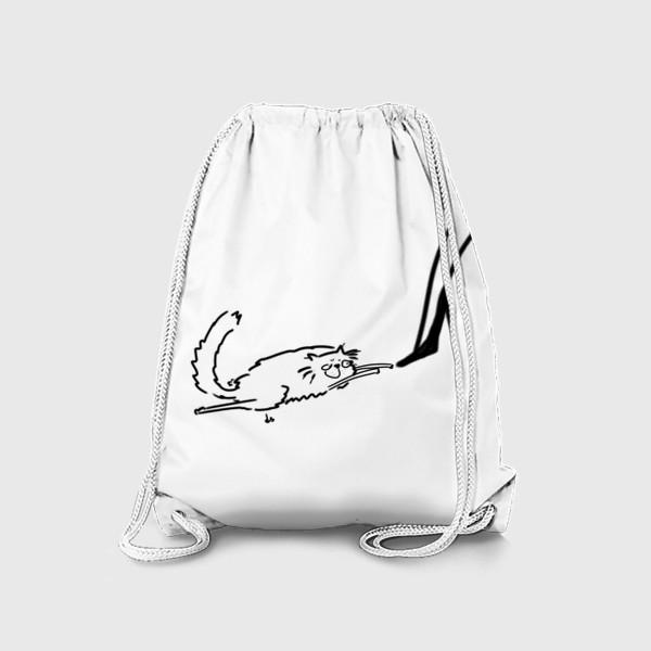 Рюкзак «Кот и туфель »