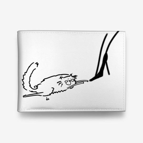 Кошелек «Кот и туфель »
