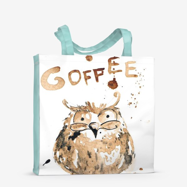 Сумка-шоппер «Coffee owl»