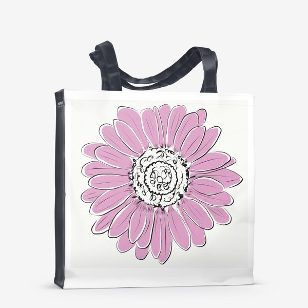 Сумка-шоппер «Розовая ромашка»