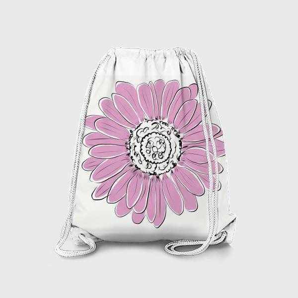 Рюкзак «Розовая ромашка»