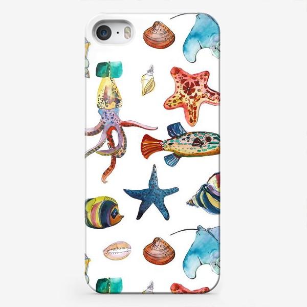 Чехол iPhone «Глубинные миры»