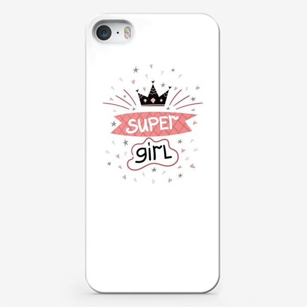 Чехол iPhone «Super Girl»