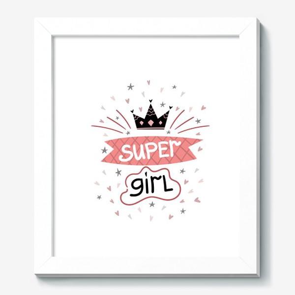 Картина «Super Girl»