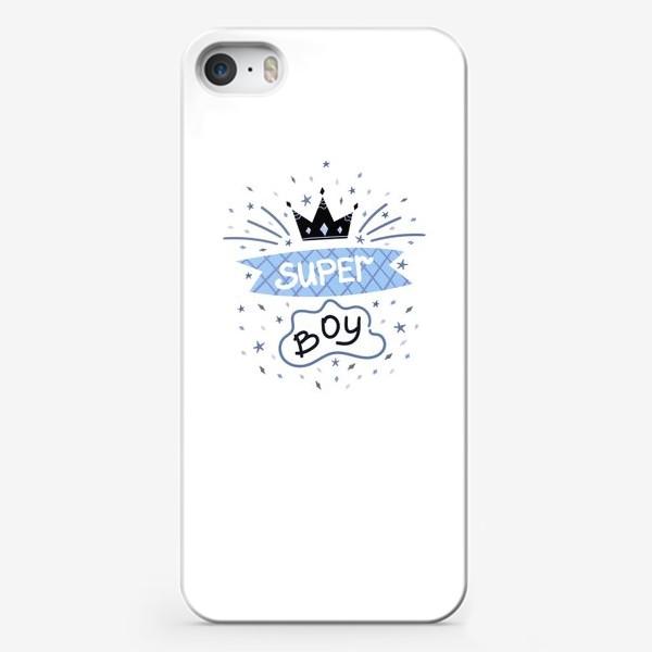 Чехол iPhone «Super Boy»
