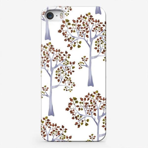 Чехол iPhone «Бронзовый лес»