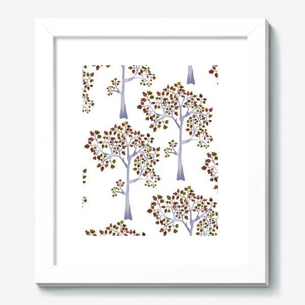 Картина «Бронзовый лес»