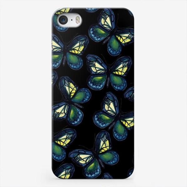 Чехол iPhone «Бабочки летней ночью»