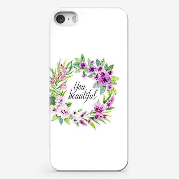 Чехол iPhone «you beautiful»