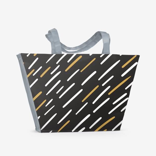 Пляжная сумка «Полосочки»