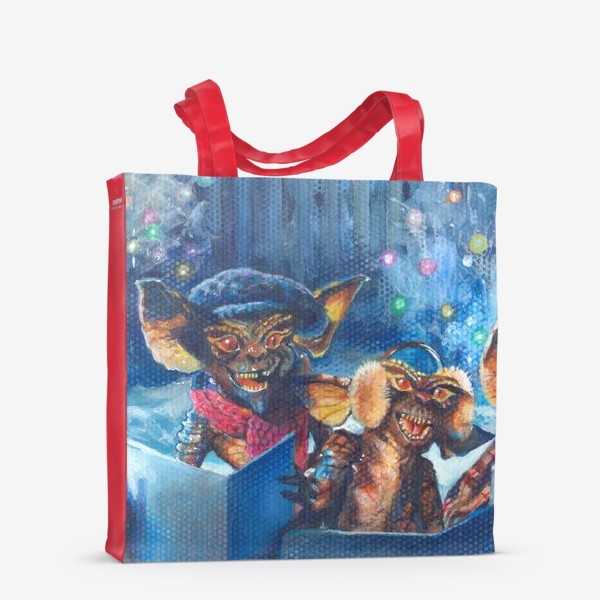 Сумка-шоппер «Рождество ,рождественская песня!»