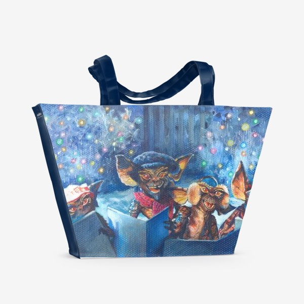 Пляжная сумка «Рождество ,рождественская песня!»