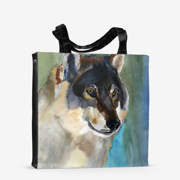 Сумка-шоппер «волк»