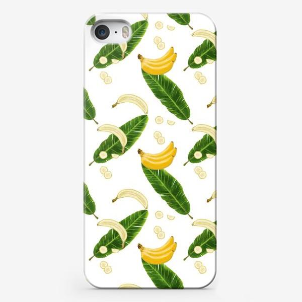 Чехол iPhone «Принт бананы»