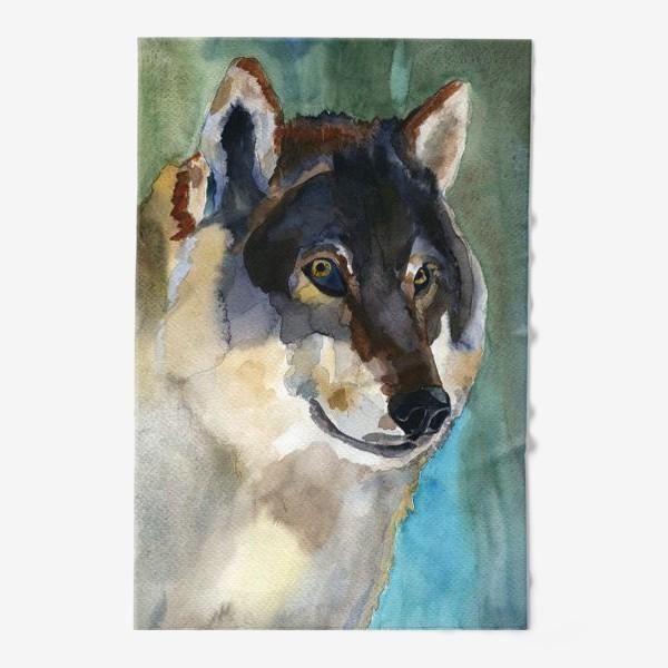 Полотенце «волк»