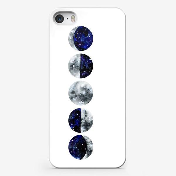 Чехол iPhone «Фазы луны»