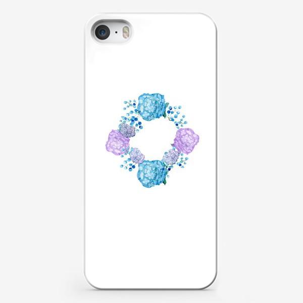 Чехол iPhone «Букет с гортензией»