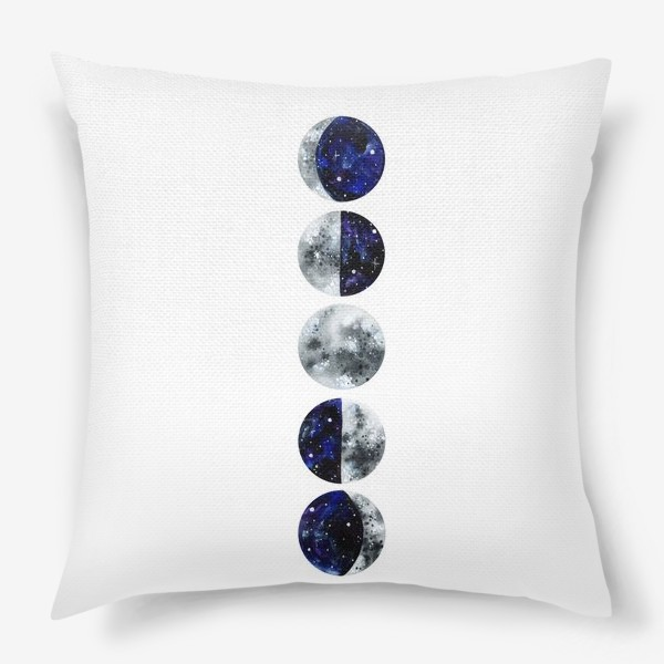 Подушка «Фазы луны»