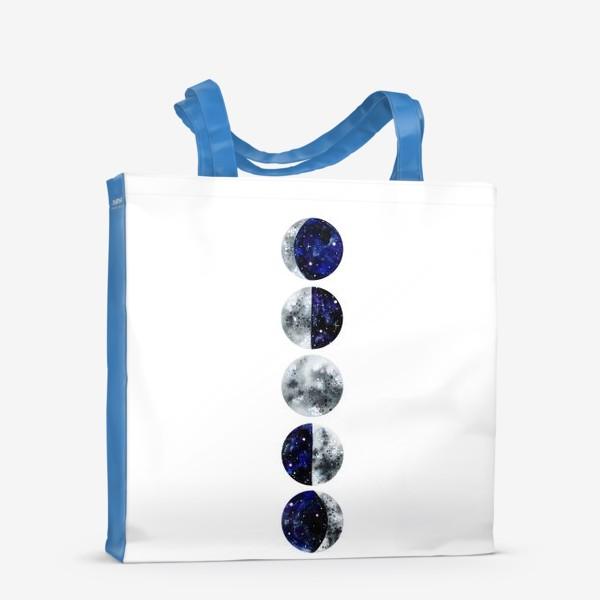Сумка-шоппер «Фазы луны»