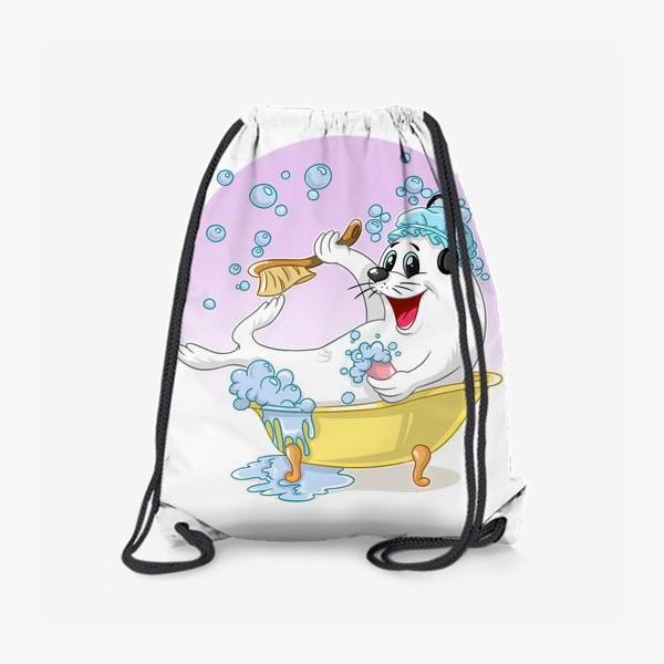 Рюкзак «тюленьчик»