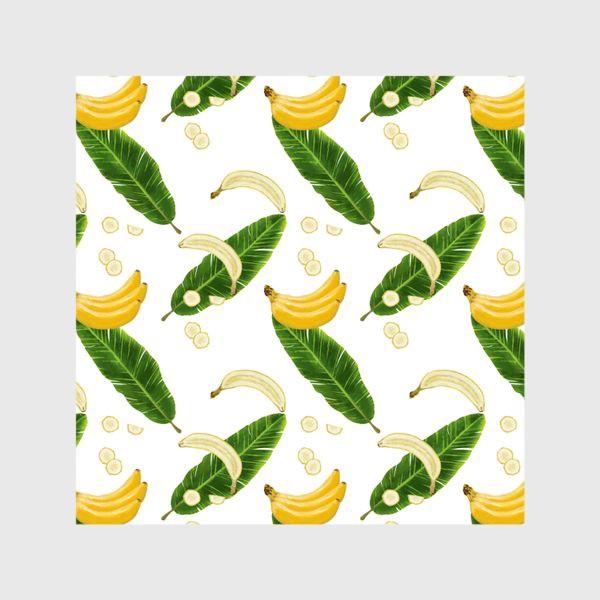 Шторы «Принт бананы»