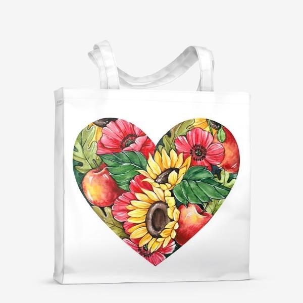 Сумка-шоппер «Сентябрьское сердце»