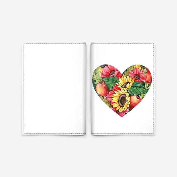 Обложка для паспорта «Сентябрьское сердце»