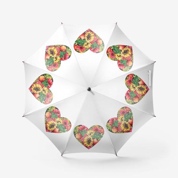 Зонт «Сентябрьское сердце»