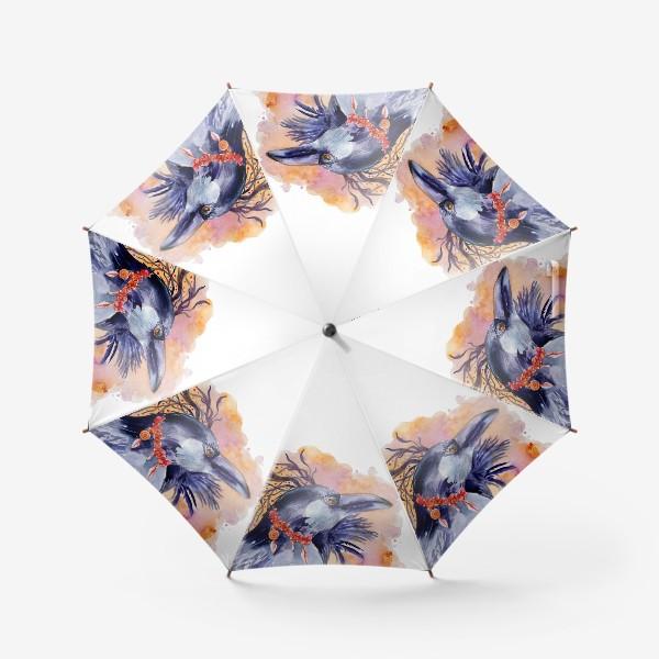 Зонт «Ворон »