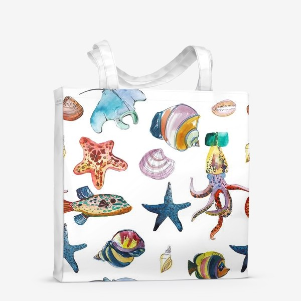 Сумка-шоппер «Глубинные миры»