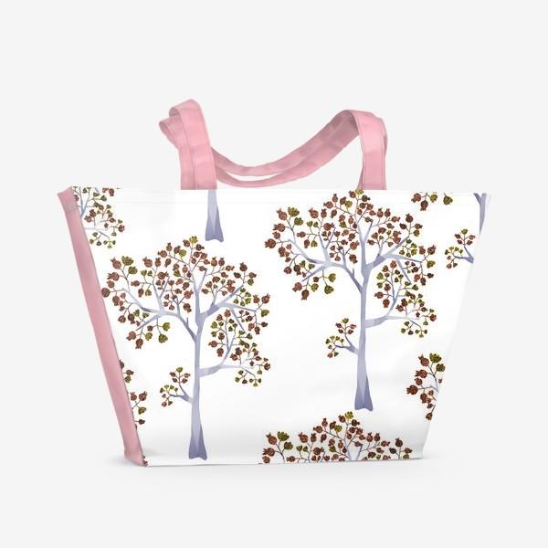 Пляжная сумка «Бронзовый лес»