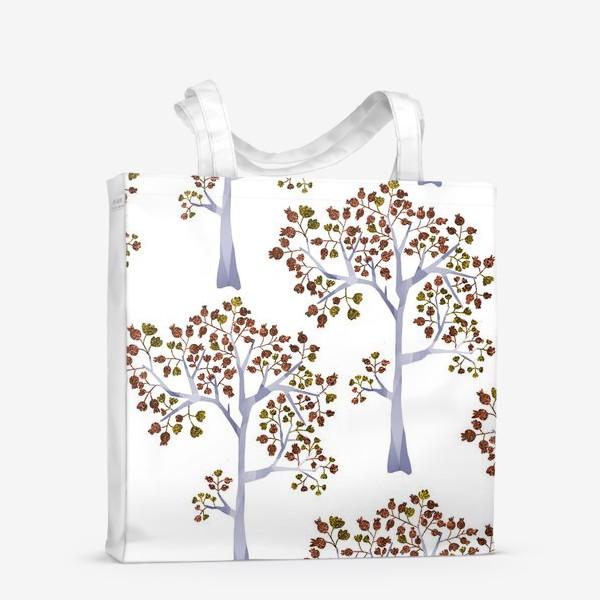 Сумка-шоппер «Бронзовый лес»