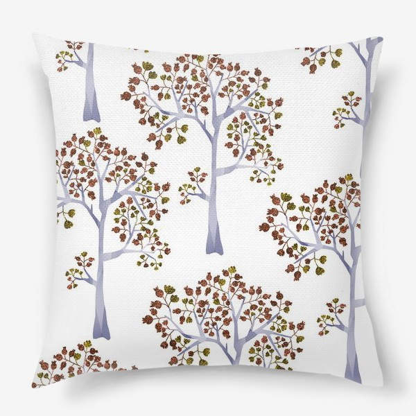 Подушка «Бронзовый лес»